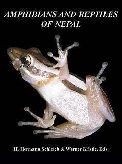 Amphibians and Reptiles of Nepal - Cover