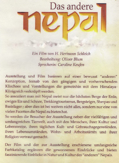 Das Andere Nepal Video